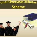 National Overseas Scholarship Scheme 2019-20