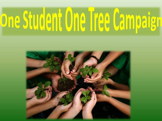 One Student One Tree Campaign
